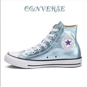 Converse Metallic High Tops